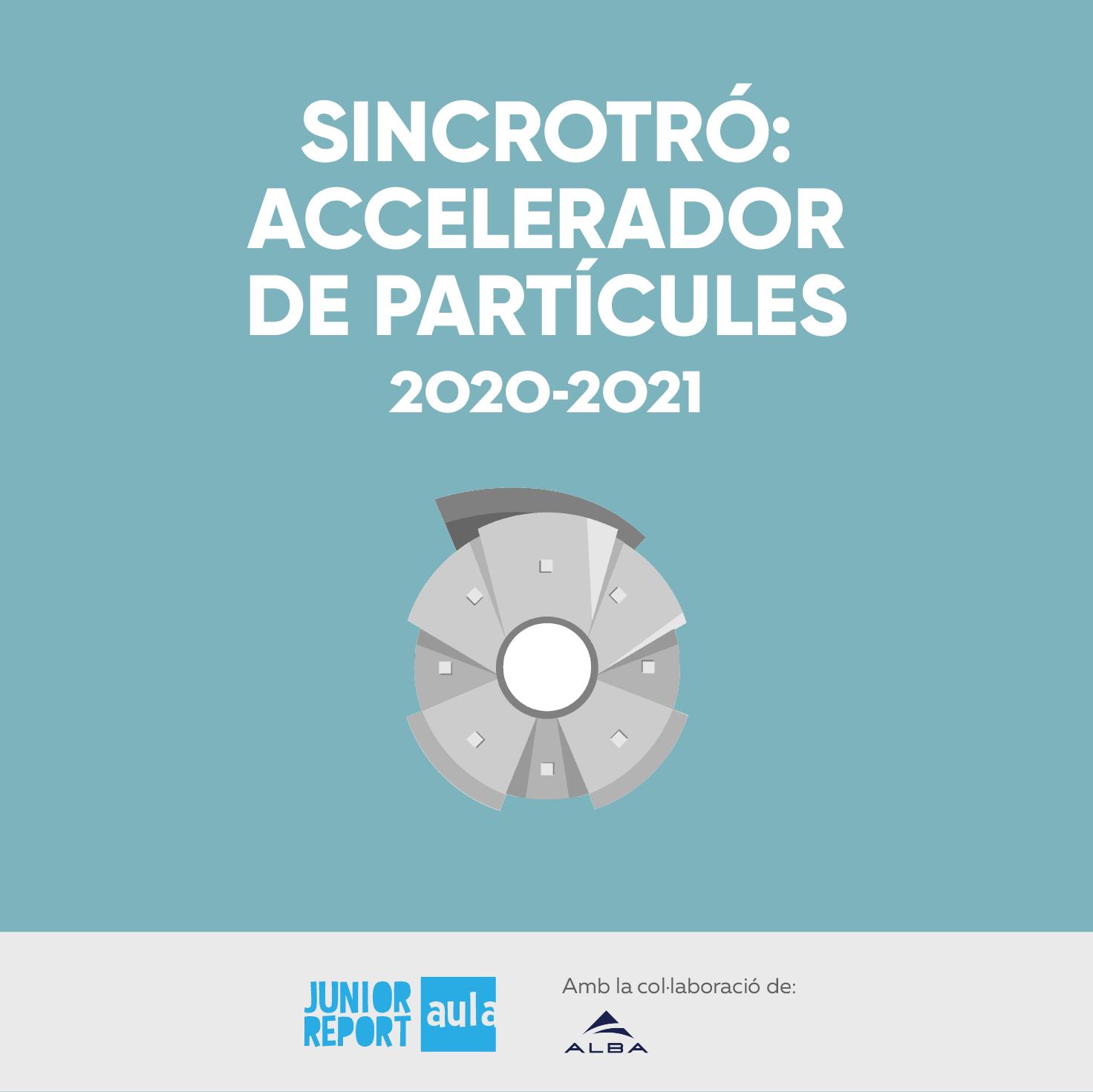 Sincrotó Accelerador de partícules 2020-2021, ilustración de acelerador